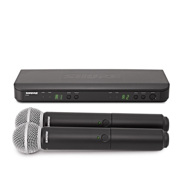 Shure BLX288E/SM58-T11 Dual Handheld Wireless Microphone System