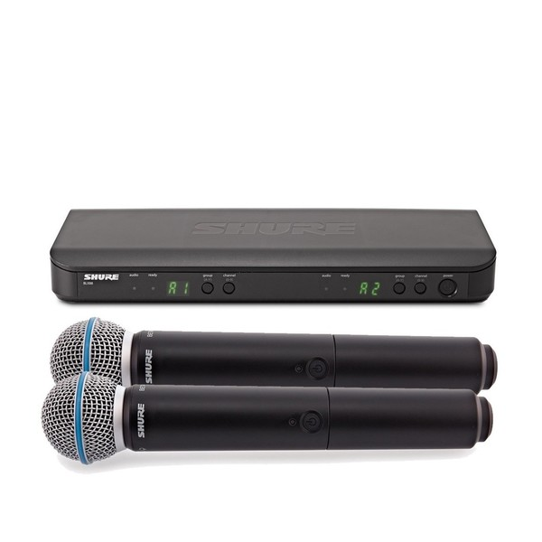 Shure BLX288E/B58-T11 Dual Handheld Wireless Microphone System