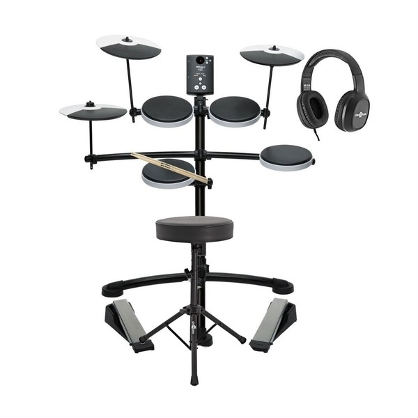 Roland TD-1K Electronic Drum Kit with Stool, Sticks and Headphones