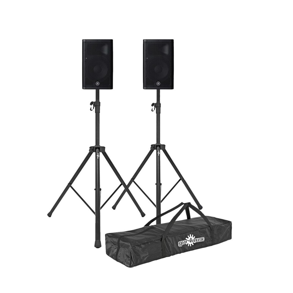 Click to view product details and reviews for Yamaha Dxr8mkii 8 Active Pa Speakers Pair With Stands.