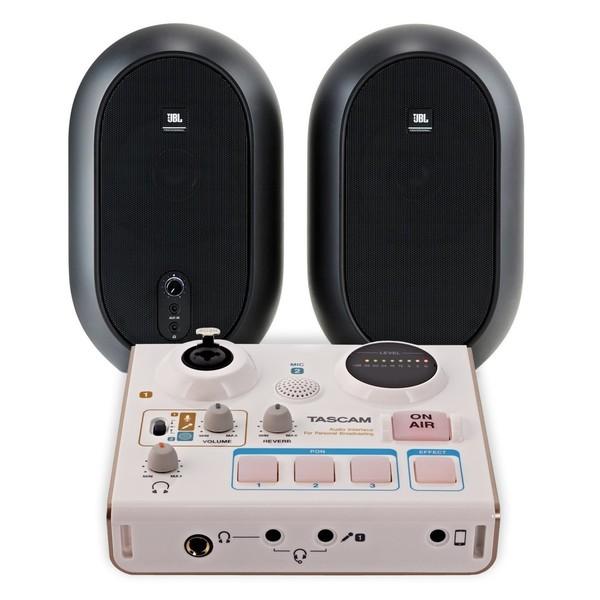 Tascam US-32 MiNiSTUDIO with JBL 104 Monitors