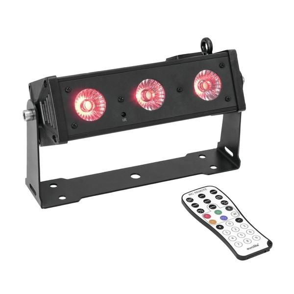 Eurolite LED BAR-3 HCL Compact Light Bar, Full Package Lit
