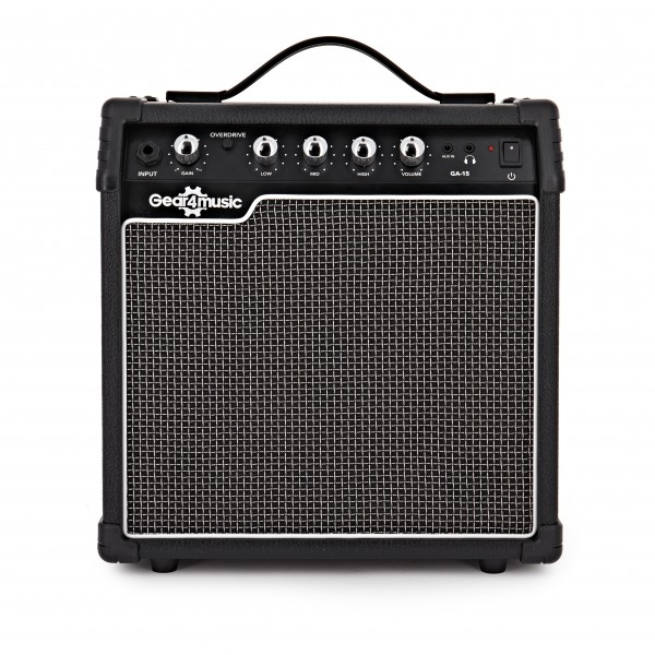 15W Electric Guitar Amp by Gear4music main