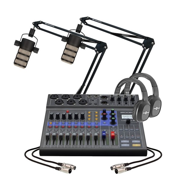 Zoom L8 Podcasting Bundle - Full Bundle