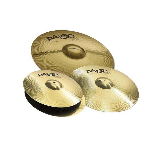 Paiste 101 Universal Brass Cymbal Pack (14, 16, 20)