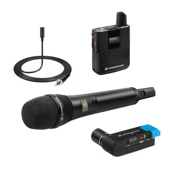 Sennheiser AVX Digital Wireless Combo Set, Full Set