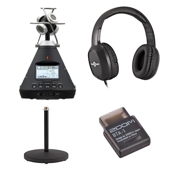 Zoom H3-VR 360 Audio Recording Bundle