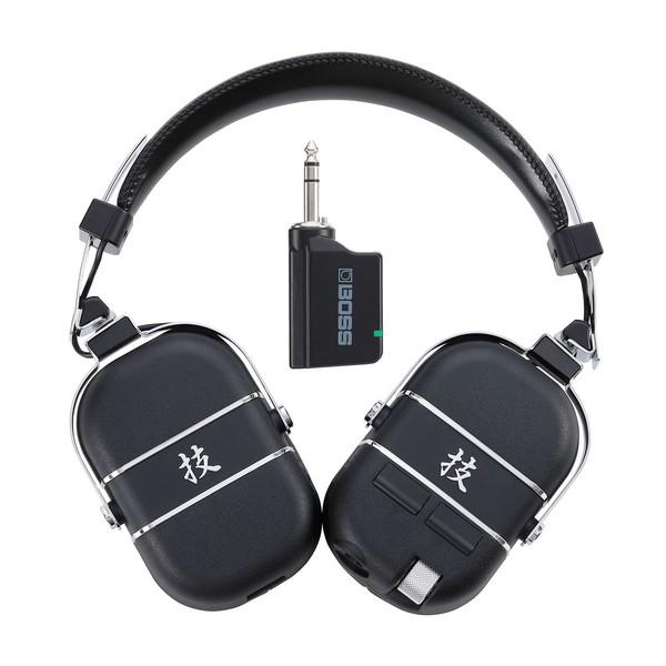 Boss Waza-Air Wireless Guitar Headphones System, Transmitter and Headphones