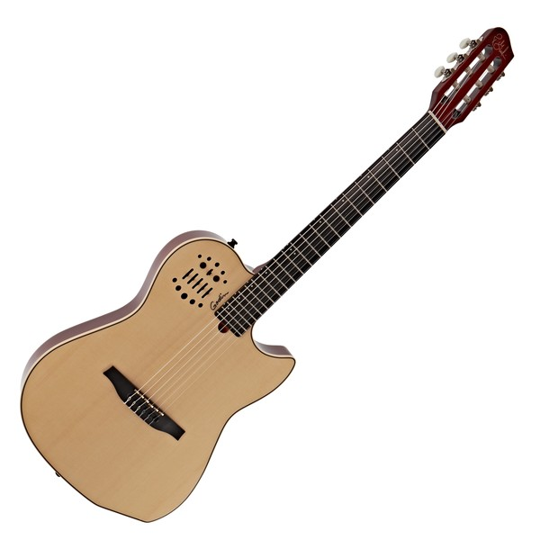Godin Multiac Nylon SA, Natural with Bag