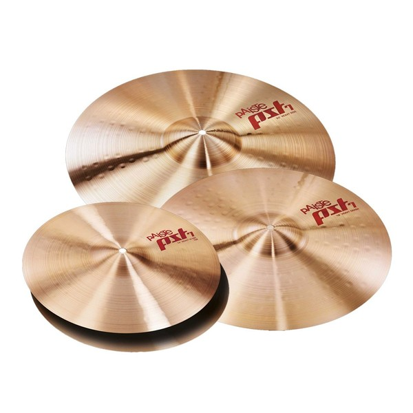 Paiste PST 7 14/16/20 Heavy/Rock Cymbal Pack
