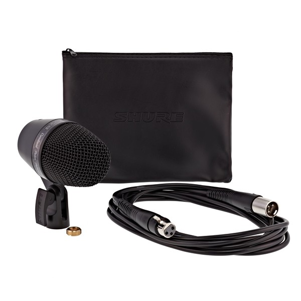Shure PGA52 Cardioid Dynamic Kick Drum Microphone with XLR Cable