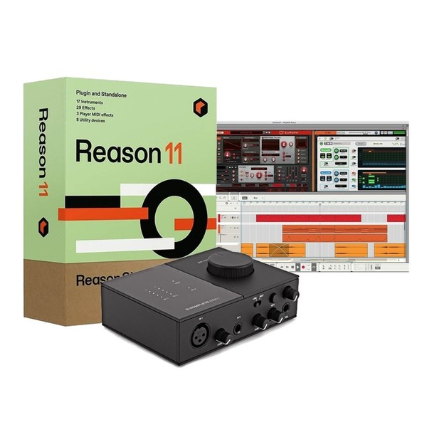 Reason 11 with Native Instruments Komplete Audio 1