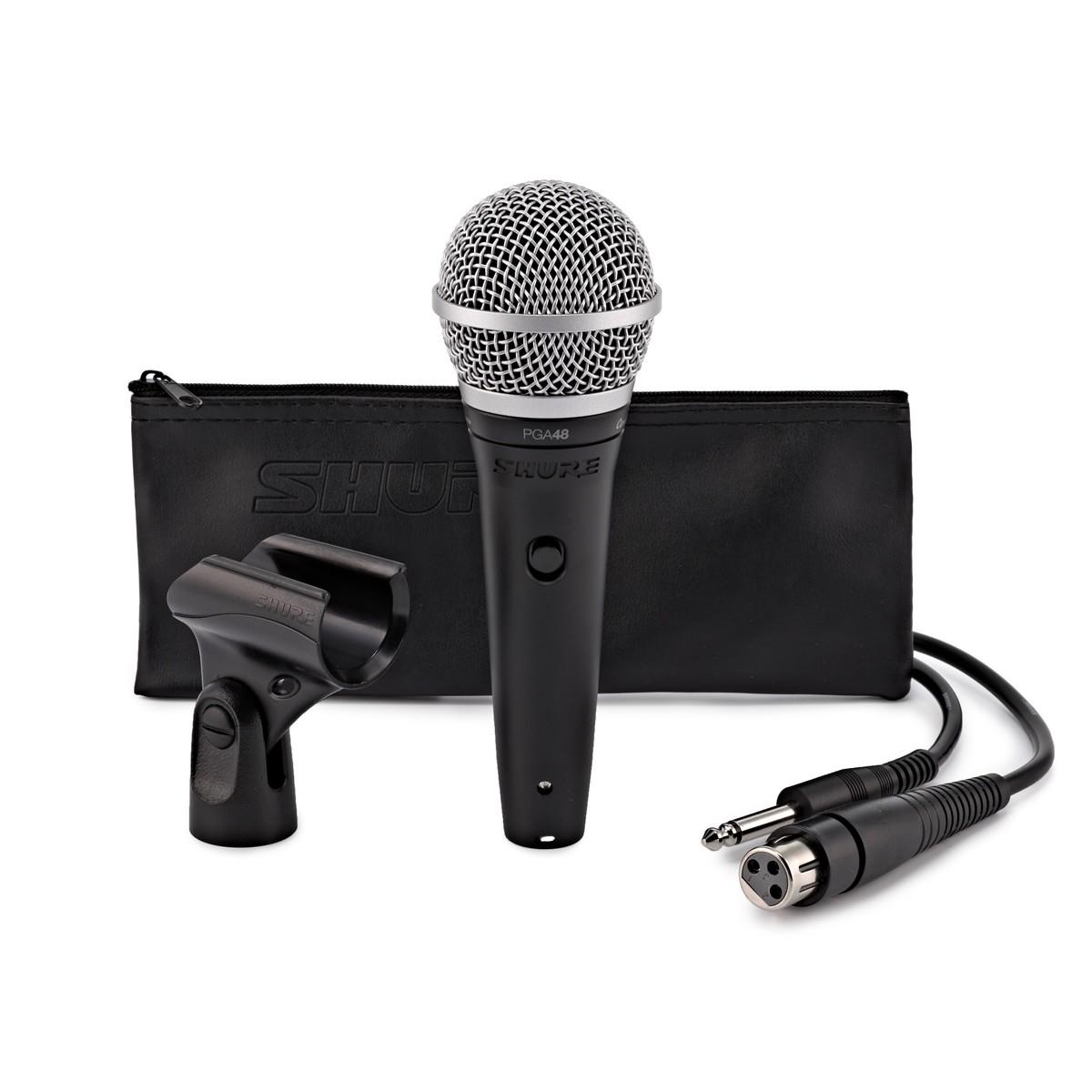 Se TILBUD på Dynamisk Mikrofon god til DJ og sang, inkl