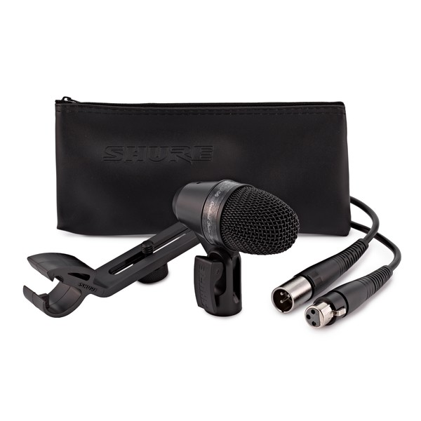 Shure PGA56 Cardioid Dynamic Snare / Tom Microphone with XLR Cable
