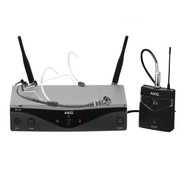 AKG WMS420 Wireless Headset Set, Ch70, Full Kit