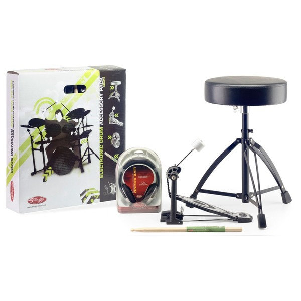 Stagg Electronic Drum Accessory Pack With Pedal