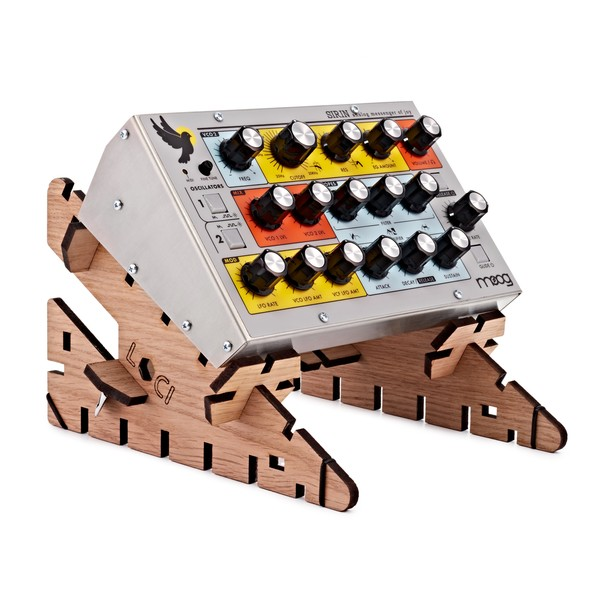 Moog Sirin Analog Synthesizer with LOCI Stand Dinky
