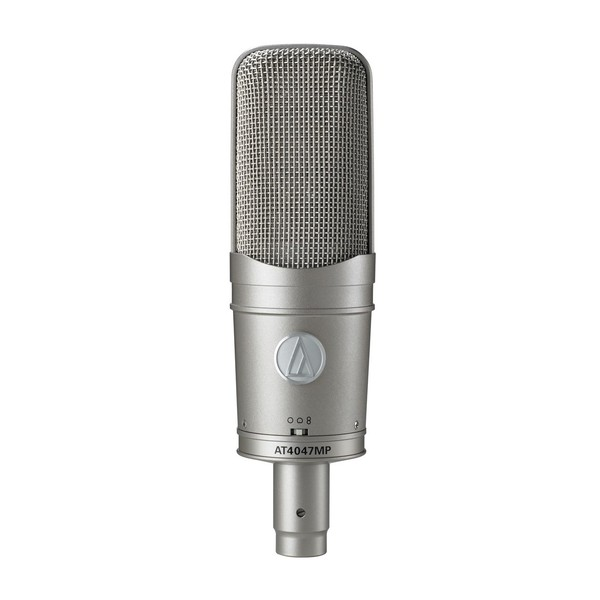 Audio Technica AT4047MP Multi-Pattern Large Diaphragm Condenser, Front