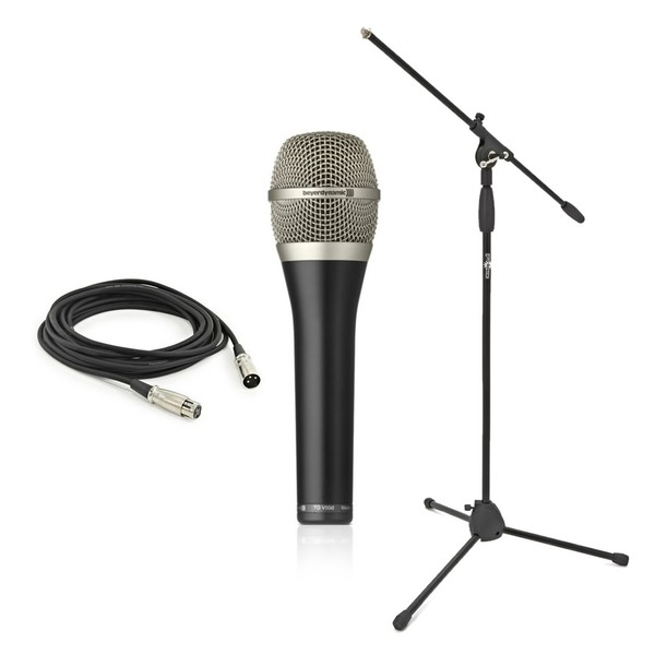 beyerdynamic TG V50d Dynamic Vocal Mic with Stand & Cable