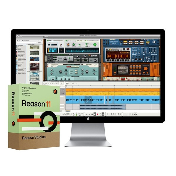 Reason 11 Music Software, Includes Reason Rack Plugin
