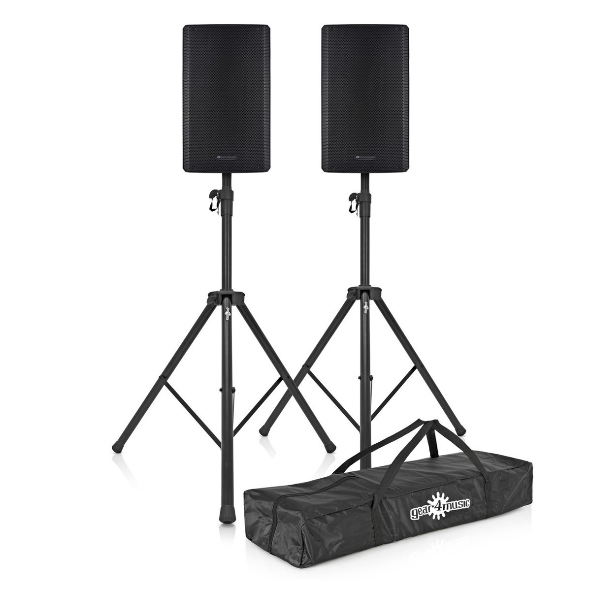 dB Technologies SYA 15 15'' Active PA Speaker Pair with Stands