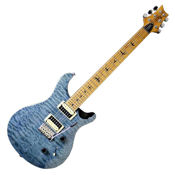 PRS SE Custom 24 Roasted Maple Neck, Whale Blue - Front