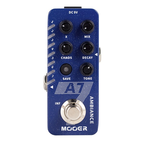 Mooer A7 Ambience Micro Pedal - front