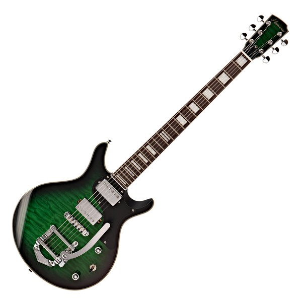Hartwood Fifty6 Vibrato Electric Guitar, Pickle