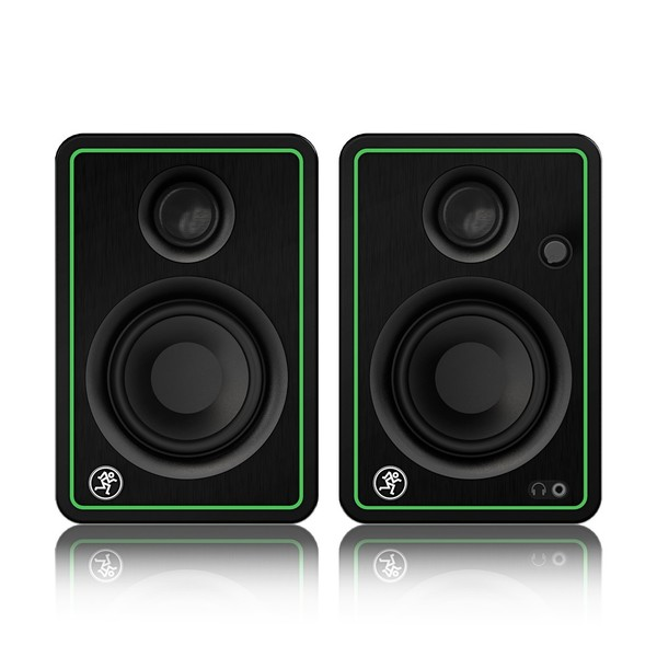 Mackie CR3-XBT 3'' Multimedia Monitor Speakers with Bluetooth, Front Pair