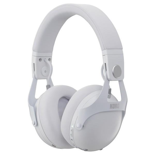 Korg Smart Noise Cancelling DJ Headphones, White - Main