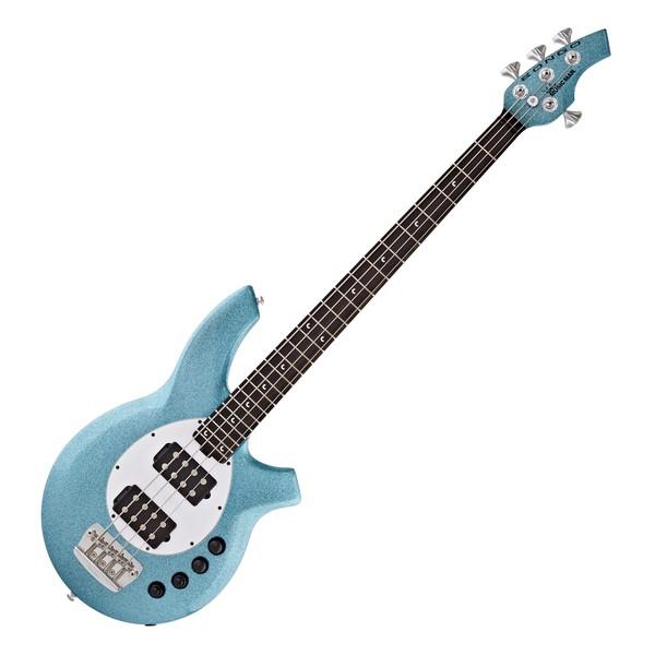 Music Man Bongo 4 HH Bass EB, Aqua Sparkle