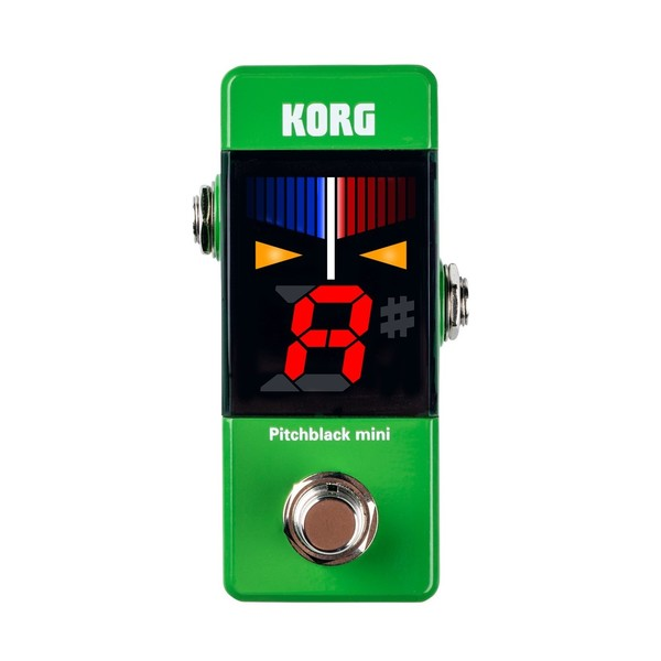 Korg Pitchblack Mini, Green, Front