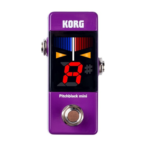 Korg Pitchblack Mini, Purple, Front