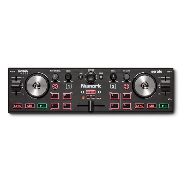 Numark DJ2GO 2 Touch Portable DJ Controller - Top