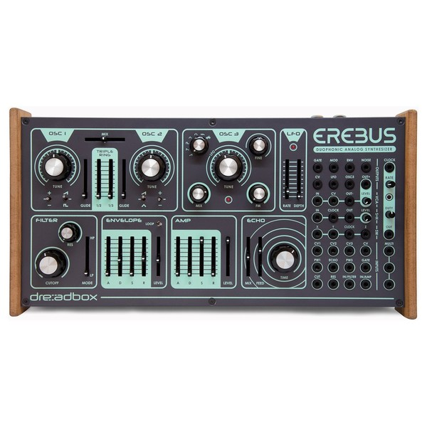 Dreadbox EREBUS V3 Duophonic Analog Synthesizer - Top