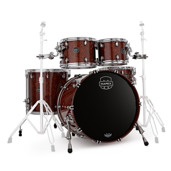 Mapex Saturn V ltd. Edition 22'' 5pc Shell Pack, Quilted Maple