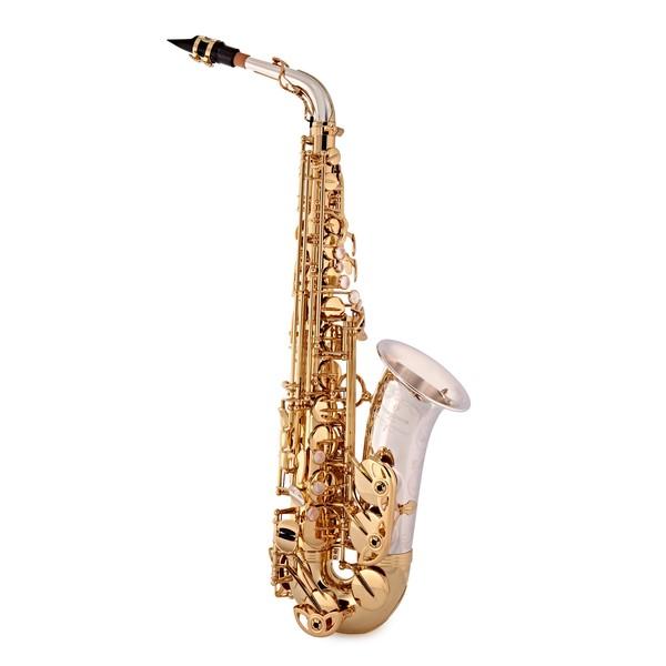 Yanagisawa AWO33 Alto Saxophone, Silver Bell, Brass Body and Bow