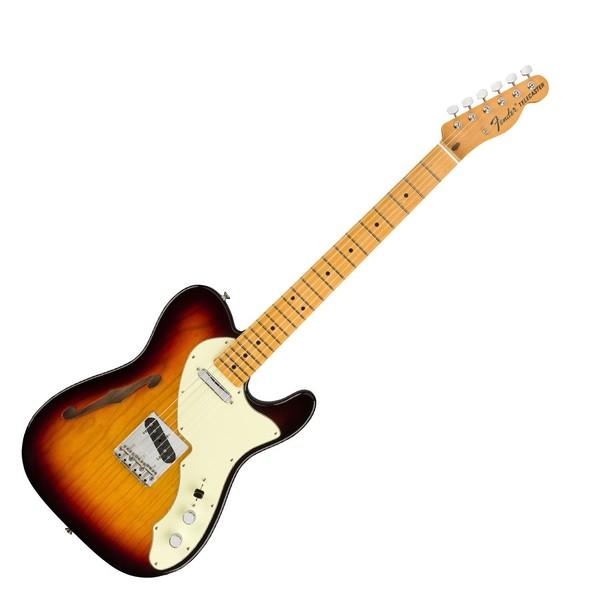 Fender American Original 60s Tele Thinline MN, 3-Tone Sunburst, Front