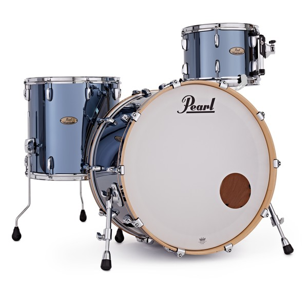 Pearl Session Studio Select 3pc Shell Pack, Black Mirror Chrome