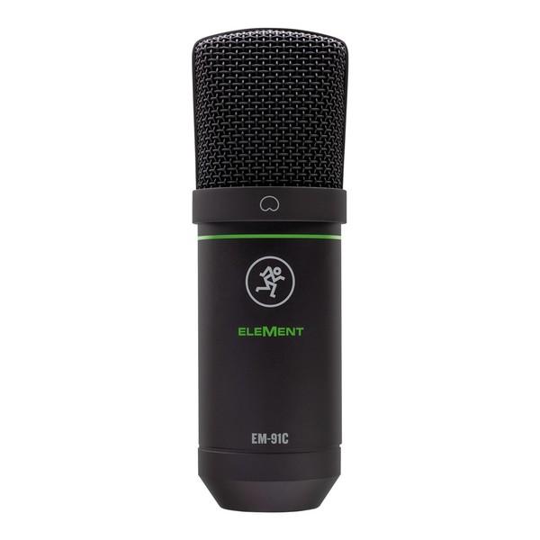 Mackie EM-91C Large-Diaphragm Condenser Microphone, Front