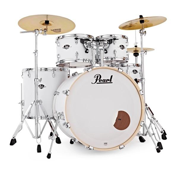 Pearl Export EXX 22'' Am. Fusion Drum Kit, Matte White