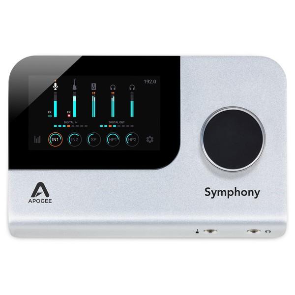 Apogee Symphony Desktop Audio Interface - Top