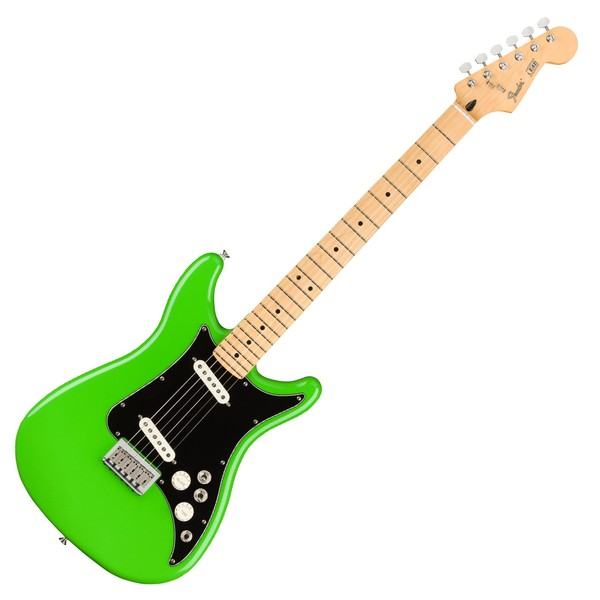 Fender Player Lead II MN, Neon Green - Main