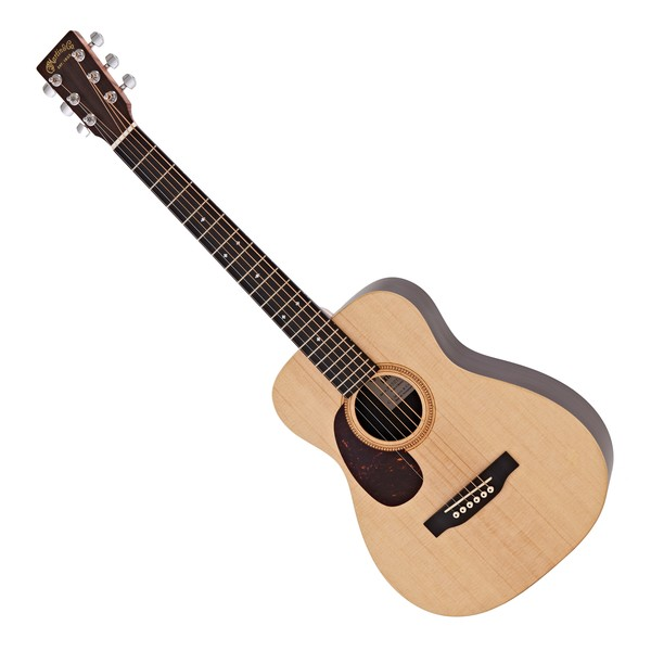 Martin LX1RE Electro Acoustic Left Handed, Natural w/ Fishman