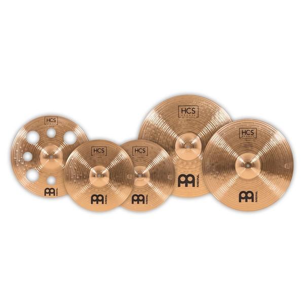 Meinl Bronze Expanded HCS Cymbal Set
