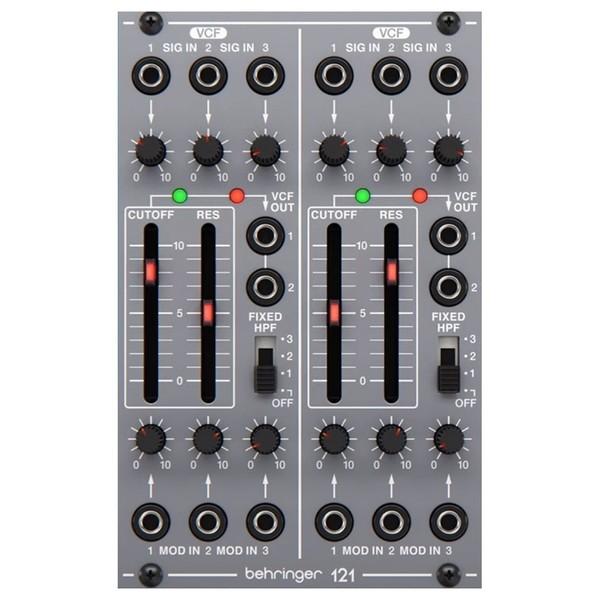 Behringer System 100 121 Dual Filter - Top