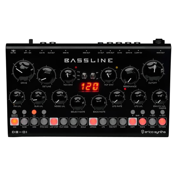 Erica Synths Bassline DB-01 - Top