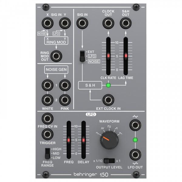 Behringer System 100 150 Ring Mod/Noise/S&H/LFO - Top