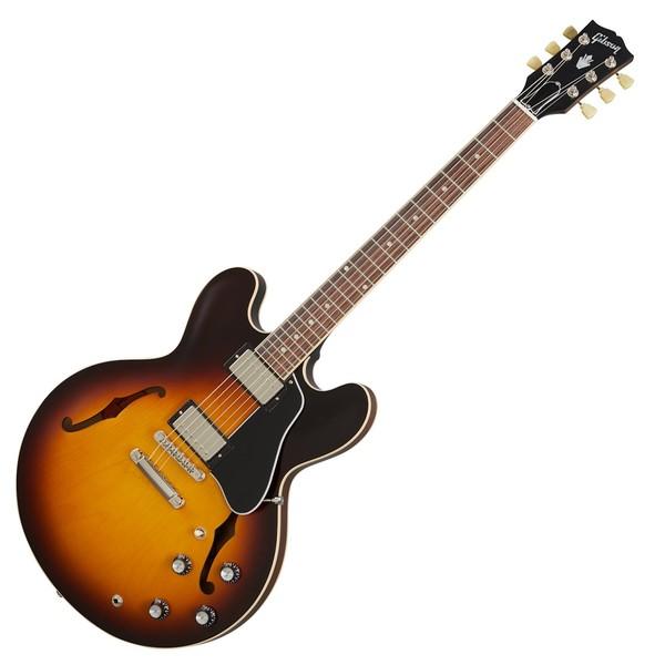 Gibson ES-335 Satin, Satin Vintage Burst - Main