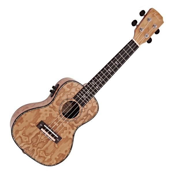 Hartwood Sonata Concert Electro-Ukulele, Quilted Ash
